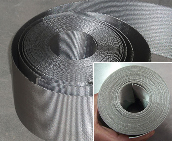 stainless steel wire mesh belt for plastic extruder screen changers