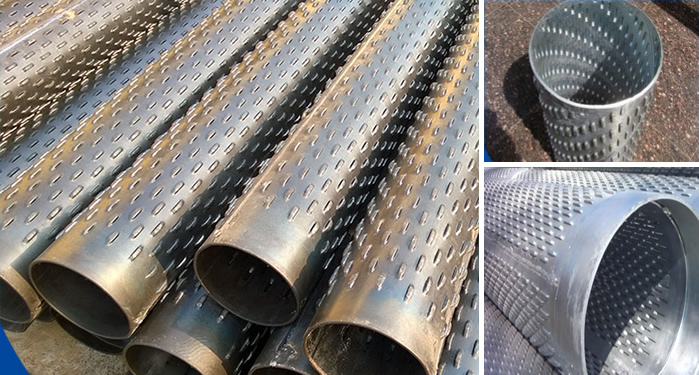 Perforated Tube for Sand Control Screen and Support Tubing
